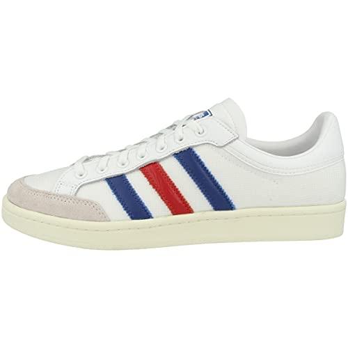 adidas EF2508, Chaussure de Piste d'athltisme Homme, Blanc/Bleu/Rouge, 46 EU