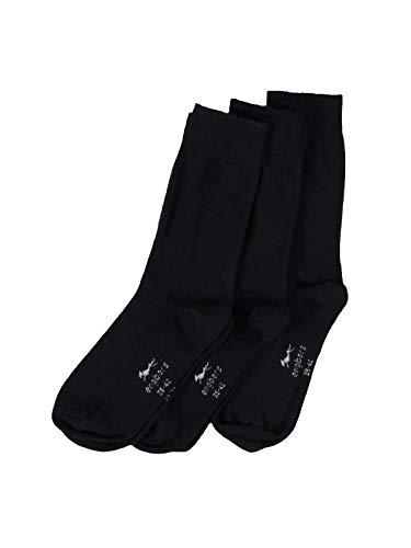 engbers Herren Socken 3er Pack, 28489, Blau in Größe 46