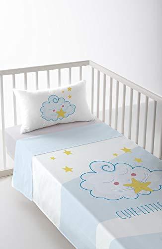 Cool Kids S2800660 Parure de lit Fernando pour lit de 80 cm, Multicolore, 120 x 180 cm