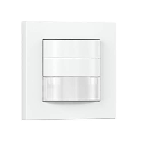 Steinel 032883 Bewegungsmelder HF COM1 weiß, 180° Unterputz-Sensorschalter, Radar-Präsenzmelder, 3-Draht-Montage, 2000 W, 230 V