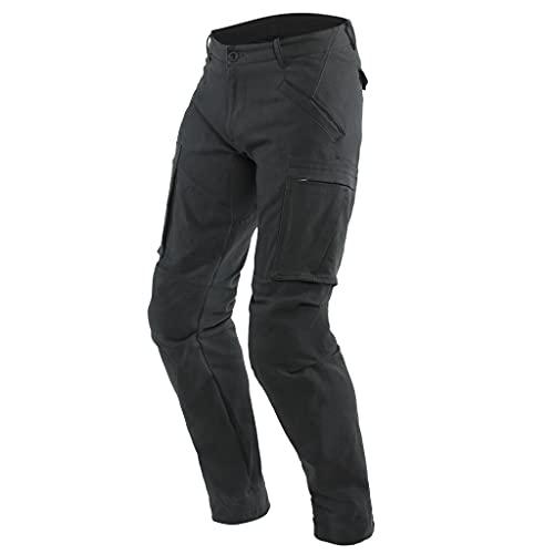 Dainese Pantalones de motorista Combat, color negro, talla 38