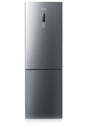 Samsung RL56GHBMG1/XEF Kühl-Gefrier-Kombination / A++ / 260 kWh/Jahr / 253 L Kühlteil / 104 L Gefrierteil / Edelstahl Look / SpaceMax, Griffmulde, Smart Eco, Display