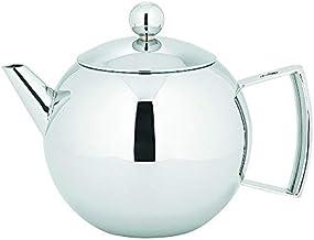 Avanti Mondo Stainless Steel Stylish Tea Pot, Silver, 15937
