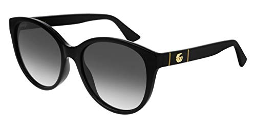 Gucci GG0631S BLACK/GREY SHADED 56/18/145 Damen Sonnenbrillen