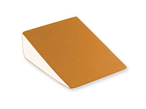 GIMA 44540 wigkussen, 50 cm breed, 50 cm lengte, 15 cm hoogte, oranje