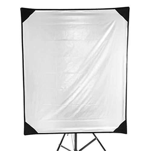 Fotografie-Reflektor Großes Studio Rechteck Fotografie Reflektor 4-in-1-Metall-Flag-Panel Set mit Tragetasche Für Fotografie Studiobeleuchtung und Außen Lighti ( Color : As shown , Size : 100x120CM )