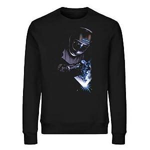 Elektrode Schweißer Pullover Alu Löffel – Unisex Organic Sweatshirt