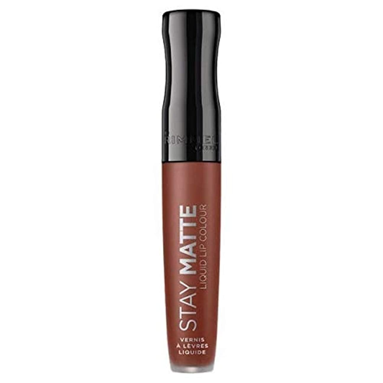 割る簡単に等価[Rimmel ] リンメルステイマット液体リップ口紅愛のかま - Rimmel Stay Matte Liquid Lip Lipstick Love Bite [並行輸入品]