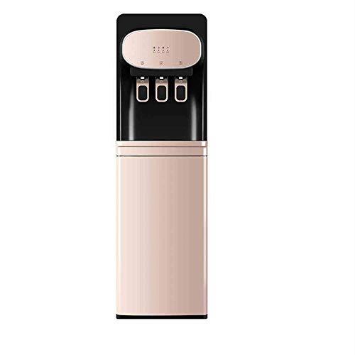 N / C Dispensador de Agua Vertical, Utilizado para Empujar Vasos de Agua, Hielo y Agua Caliente de Acero Inoxidable de Doble propósito, reducción de Ruido de Graves, Salida de Agua