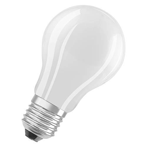 OSRAM Lot de 10 Ampoules LED   Culot E27   Blanc chaud   2700 K   8,50 W équivalent 75 W   dépolie   LED Retrofit   Forme Standard   Dimmable