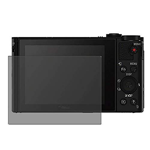 Vaxson TPU Pellicola Privacy, compatibile con Sony DSC-Hx90, Screen Protector Film Filtro Privacy [ Non Vetro Temperato ]