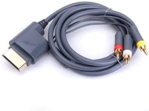 CHILDMORY AV Cord cavo ottico Video Audio per Microsoft Xbox 360 console per videogiochi