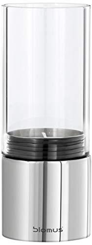 Blomus 65091 Windlicht Faro mit Teelicht, Edelstahl poliert