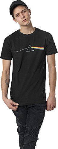 MERCHCODE Jungen Pink Floyd Dark Side of The Moon Tee T-Shirt, Black, XS