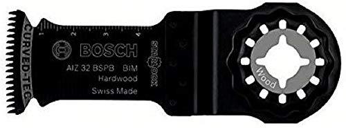 Bosch 2608661903 - lame pour plonger coupe BIM BSPB bois dur AIZ 32, 100 x 32 x 2 mm