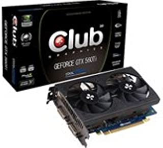 CLUB3D CGNX-XT5648 GeForce GTX 560 Ti 2GB GDDR5 - Tarjeta gráfica (GeForce GTX 560 Ti, 2 GB, GDDR5, 256 bit, 2560 x 1600 Pixeles, PCI Express 2.0)