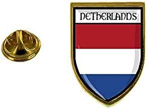 Akachafactory Pin aansteker, aansteker, stad vlag, Nederland, Nederland.