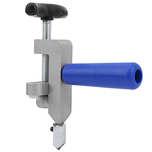 Kit di Utensili per tagliavetro Funzione Tagliapiastrelle ergonomico Tagliapiastrelle Portatile per Taglio Manuale Set di Apertura Rapida per Tagliare Vetro, Piastrelle di Ceramica,
