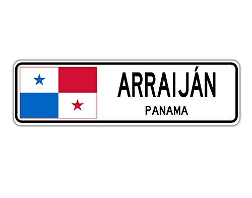 TammieLove Arraij ̈¢n, señal de calle de Panamá, bandera