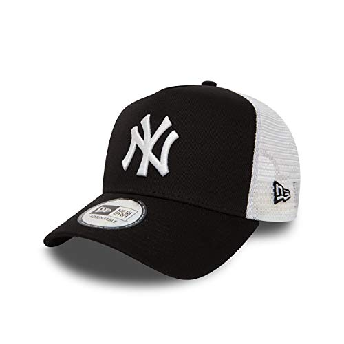 New Era Herren 9Forty AF TRUCKER New York Yankees Kappe, Schwarz-Weiss, OSFA
