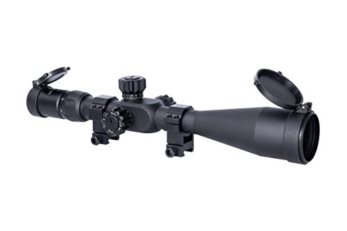 Monstrum Tactical 6-24x50 Rifle Scope with First Focal Plane...