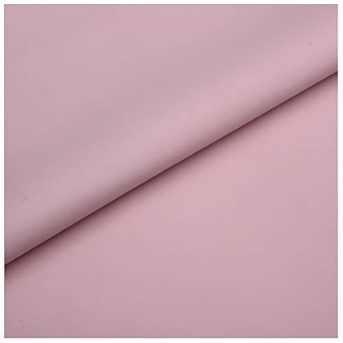 Material de Piel Sintética Tapicería Tela de Piel Sintética Impermeable Cuero Mate Sofá Fundas para Asientos de Coche Material de Zapato Hecho a Mano DIY (Rosa Claro)(Size:1.4x4m)
