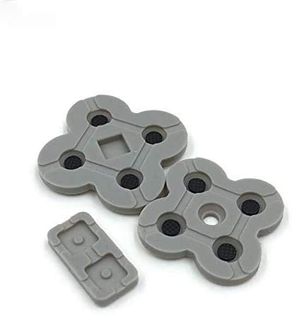 Silicone Conductive Rubber Pads Keypad Button Adhesive for Nintendo DS Lite DSL NDSL Console Buttons Repair Part