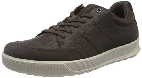 Ecco Herren BYWAY Sneaker, Braun (Licorice/Coffee 55822), 42 EU