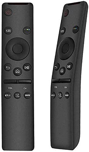 Telecomando Sostitutivo per Samsung TV. Compatibile con tutti i TV Samsung 4K. Compatibile con TV Samsung Serie 6 7 8 9 Smart TV 4K UHD, Plug&Play, Nessuna Programmazione Richiesta