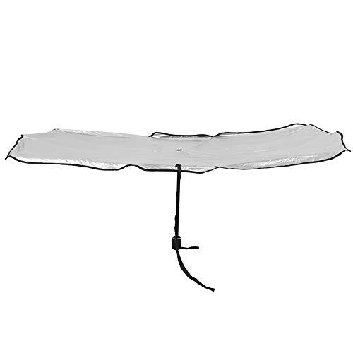 Atyhao Parasol de Coche - Innovador Parabrisas de Coche Plegable Protector Solar Parasol Cubierta de Paraguas Accesorio Protector(L)