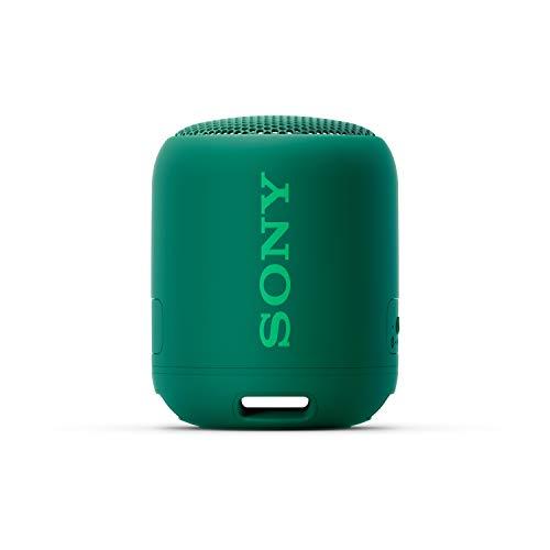 Caixa de Som Speaker Sony SRS-XB12 Extra Bass Bluetooth Resistente a Agua (Verde)
