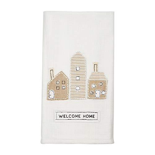 Welcome Home Applique Towel