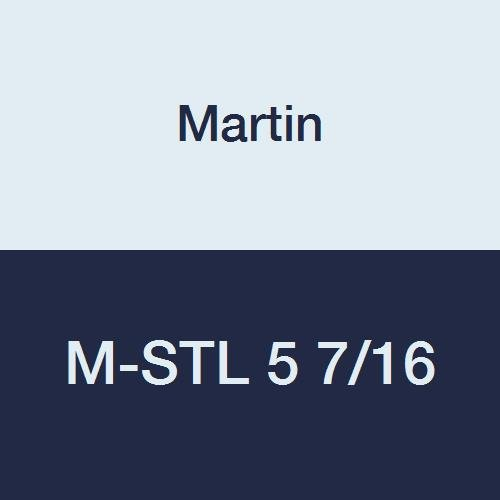 """Martin M-STL 2 Quick Disconnect Bushing, High Carbon Steel, Inch, 2"""" Bore, 6.5"""" OD, 6.75"""" Length"""