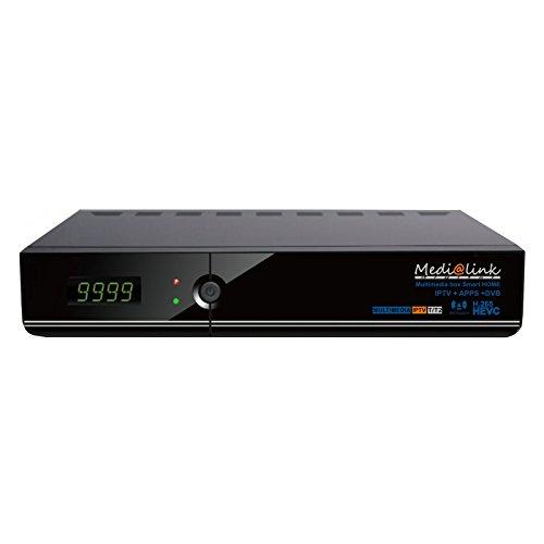 Medi @ link Multi Media Box ml 5100hecv 265IPTV + DVB-T/T21tarjeta lector