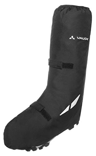 VAUDE Bike Gaiter Long Calcetines, Unisex Adulto, Negro, M
