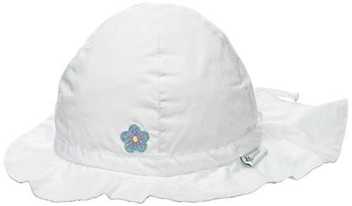 Sterntaler Baby-Mädchen Sun Hat With Neck Protection Sonnenhut, Weiß (Weiss 500), 51