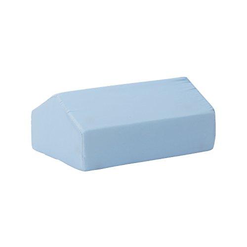 DMI Elevating Leg Rest Cushion Foam Pillow, Helpful for Knee and Leg Pain, 17 x 10 x 7 inches, Blue