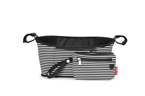 Skip Hop - Organizador para cochecito, color blanco y negro
