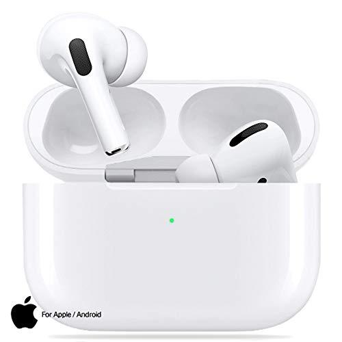 Cuffie Bluetooth Auricolare Bluetooth 5.0 Auricolari Wireless Cuffie Sportive IPX5 Impermeabili Cuffie Stereo 3D, Cuffie In-Ear con Mic e Scatola di Ricarica,Per Apple AirPods Pro/Android/iPhone