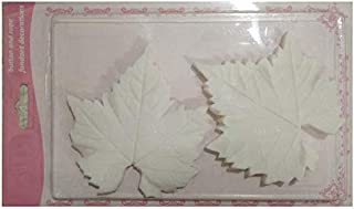 S.Han Silicone Vainers Leaves Mold Fondant Mould Cake Decorating Tool Resin Baking