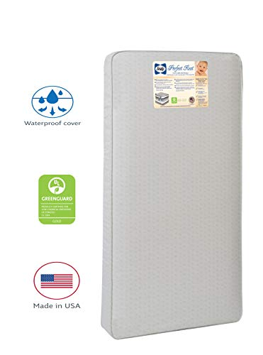 Best Buy! Sealy Baby Perfect Rest Waterproof Standard Toddler & Baby Crib Mattress - 150 Extra Firm ...