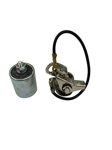 ENGINERUN Points and Condenser Chainsaw Ignition Kit 041 Compatible with Stihl 041 041AV 045 056 Replaces OEM 1115-404-3400 1115-400-2000