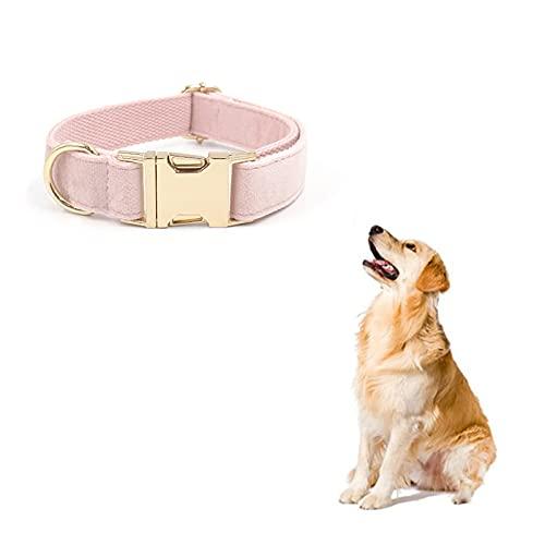 NIUBICLAS Collar de perro, collar de perro de nailon ajustable con acolchado suave, transpirable, para perros pequeños, medianos y grandes