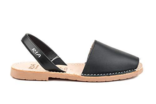 Ria Menorca Scarpe Sandalo Donna 20002-S2 Box Calf Negro