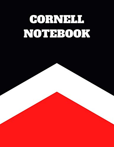 Cornell Notebook: Cornell Note Paper Notebook, Large College Ruled Lined Journal Note...