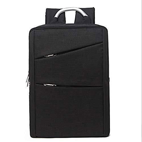 Cfilet Los hombres y las mujeres personalidad de la moda en cuadro viajes de placer tumid capacidad de la mochila adecuados for las excursiones de senderismo / / escuelas (Color: Negro, Tamaño: 40cm *