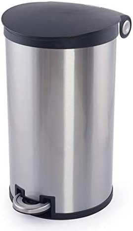 SimplyKleen Corinth 7.9-Gallon Round Stainless w Trash Max 49% Super intense SALE OFF Steel Can