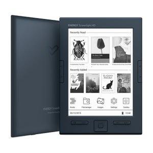 Energy Sistem Screenlight HD - Lettore e-book 6' E-ink Carta HD, 8 GB