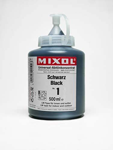 500ml MIXOL Universal-Abtönkonzentrat # 1 Schwarz