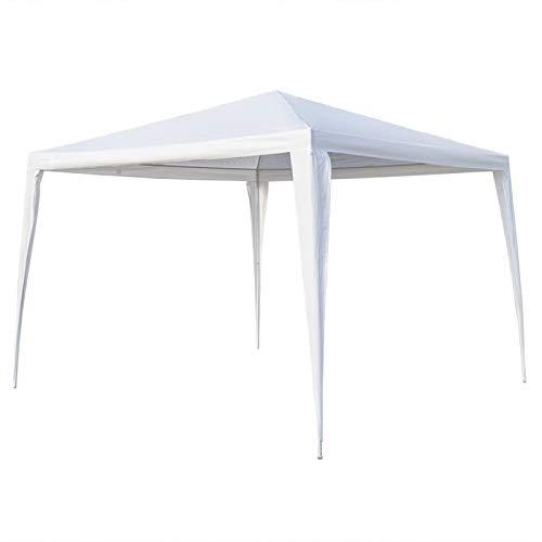 upstartech Gazebo 3m x 3m, Garden Gazebo Canopy Sun Shelter Water Resistant Sun Protection/Anti-UV, Marquee Tent Outdoor Shelter for Patio Backyard Sunshade and Rain
